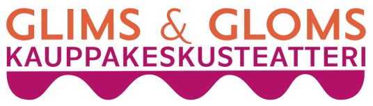 Glims & Gloms Kauppakeskusteatteri logo